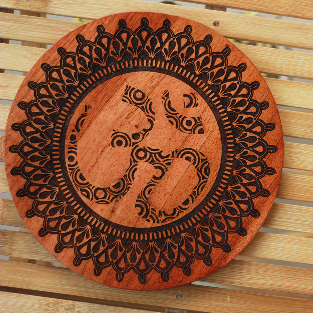 Spiritual Posters for Your Home - Om Wooden Wall Art Decor for your walls - Woodgeek Store