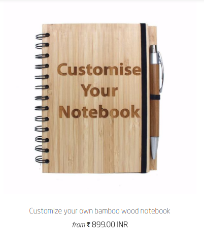 Customize Your Own Wooden Notebook for artists, writers, poets & designers - Woodgeek Store