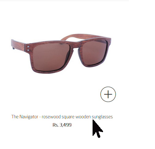 Custom engrave your Navigator rosewood sunglasses - Woodgeek Store