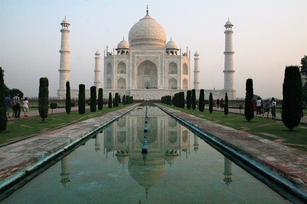 Taj Mahal - Agra Tourism - India's Golden Triangle Trip by Woodgeek Store