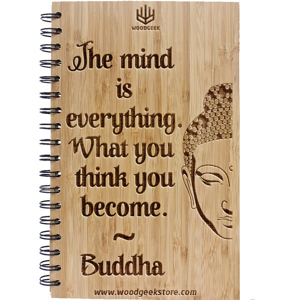 What You Think You Become - Inspirational Quotes - Wisdom Quotes - Buddha Quotes - Spirituality - Woodgeek Store