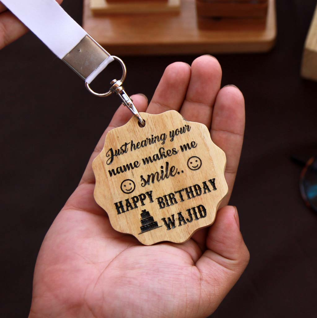 Personalised Happy Birthday Wooden Medal. This Trophy Medal Is One Of The Best Birthday Gifts For Men. This Custom Medal Is One Of The Birthday Gifts For Men. Birthday Gifts For Him. Looking For Birthday Gift Ideas For Boyfriend? This Medal Is A Great Birthday Gift For Boyfriend. These Wooden Medals Make The Best Birthday Gifts For Men. This Makes Unique Birthday Gifts For Him.
