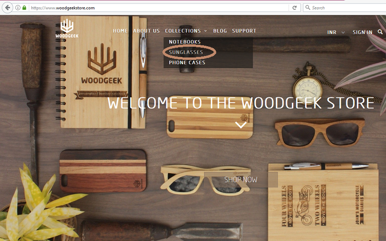 Customize your wooden sunglasses - Woodgeek store