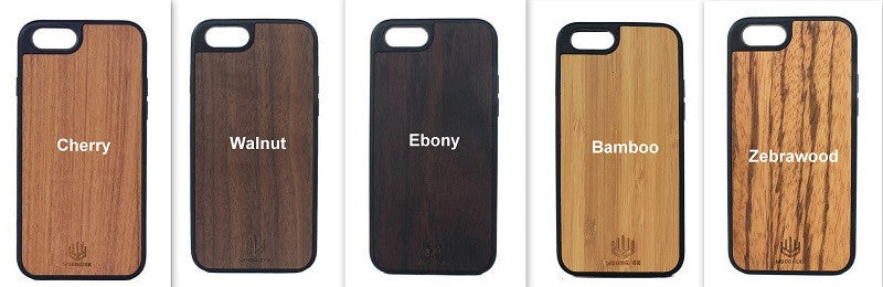 Choose type of wood for wooden phonecase - Wodgeek Store