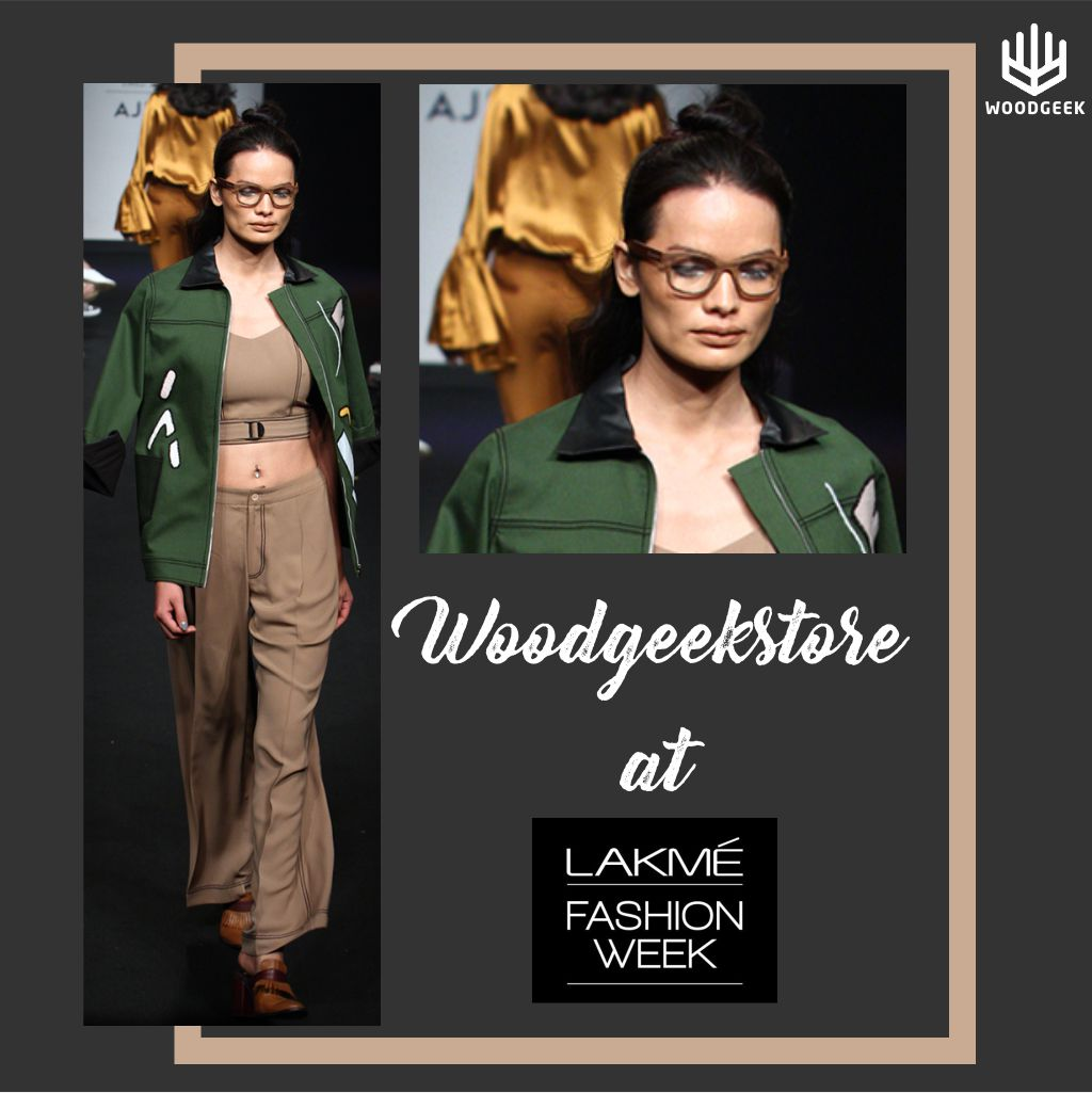Geek glasses at Lakme Fashion Week - Woodgeek Store