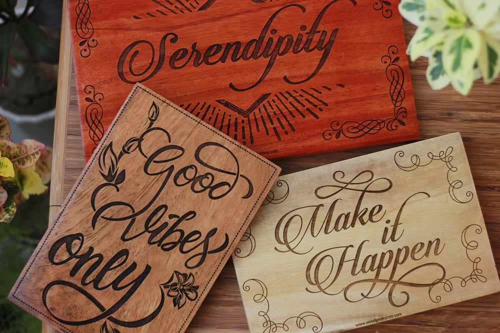 Wooden Word Sign - Quote posters - Wooden Wall art Decor from Woodgeek Store
