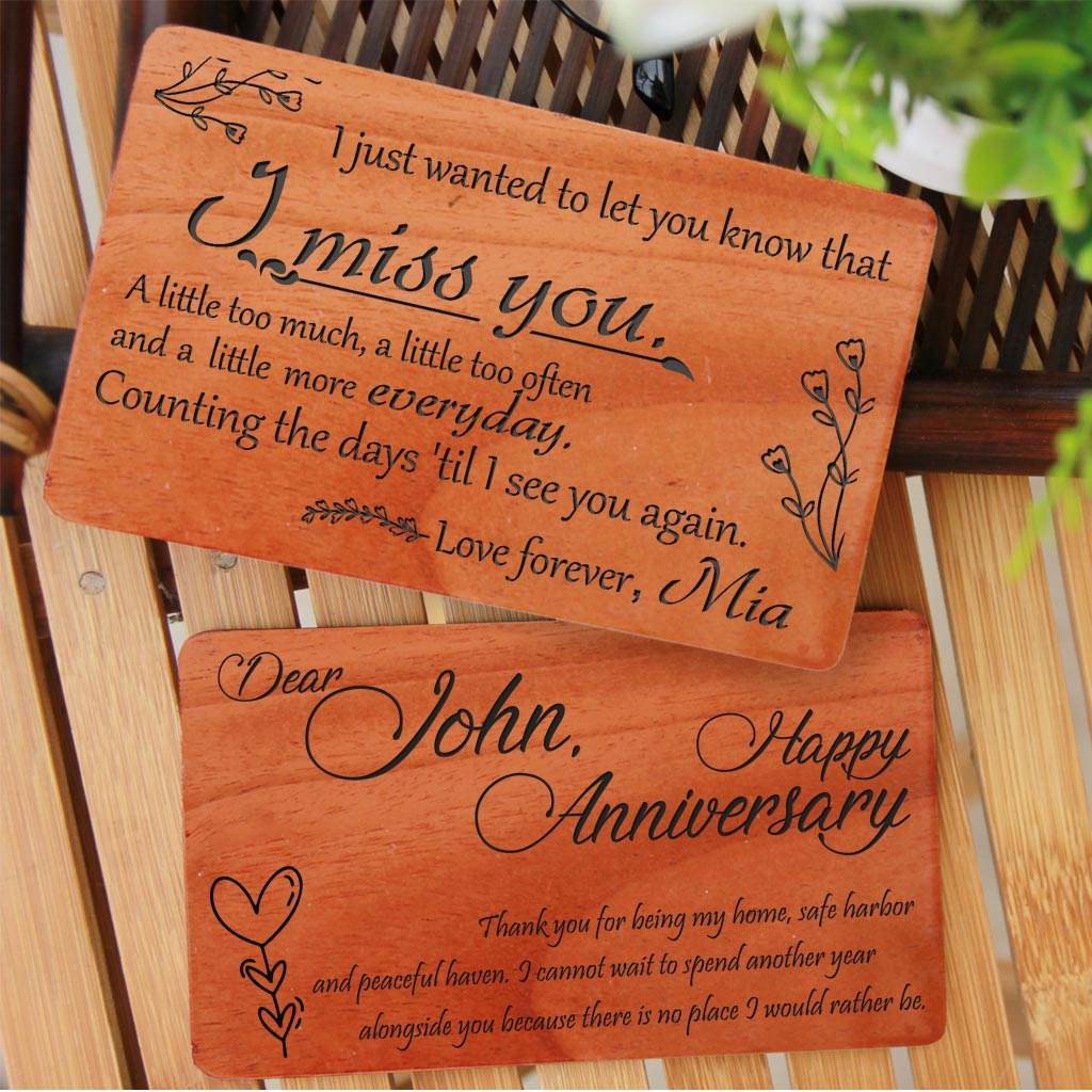 Fathers Birthday Wood Engraved Stand Gift;Best DAD in The World Laser Engraved Wooden Stand-Plaque