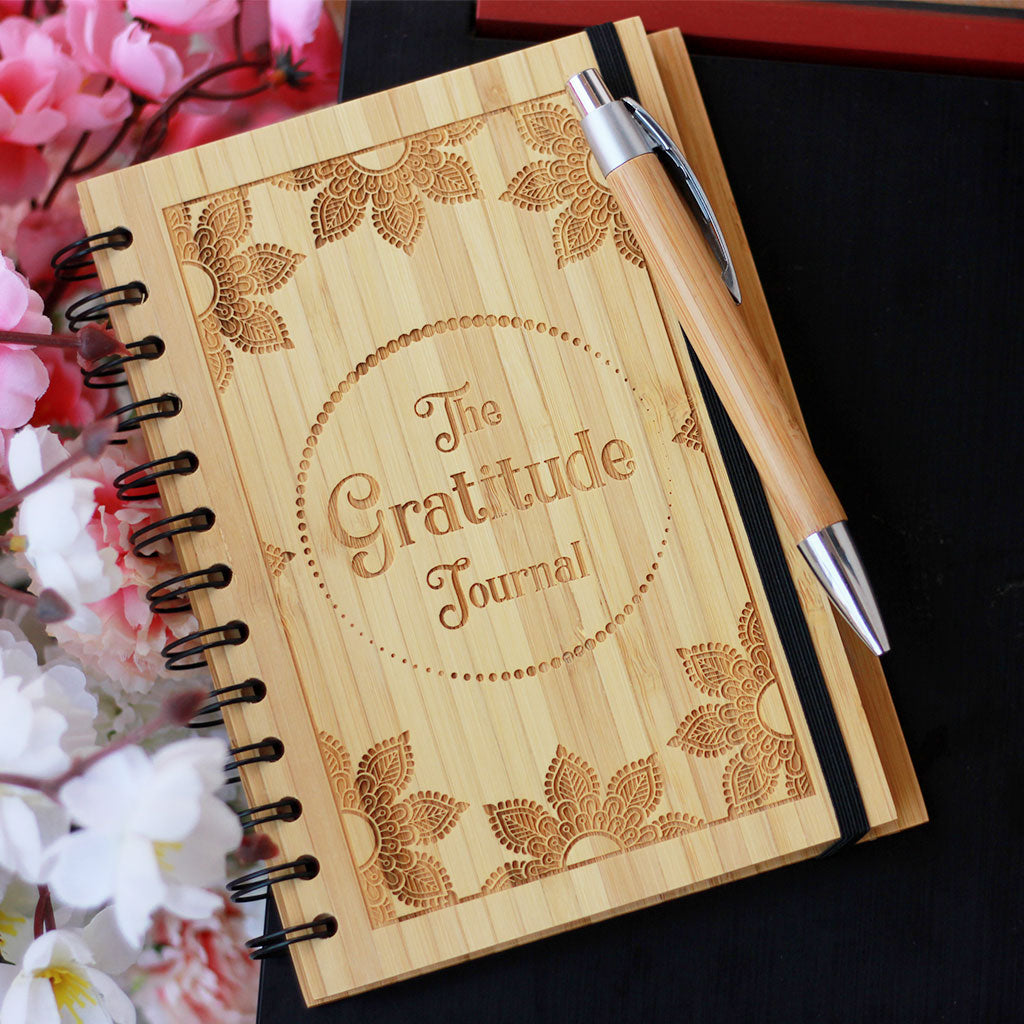 Custom Gratitude Journal - A Gratitude Diary To Document Your Gratitude Exercise