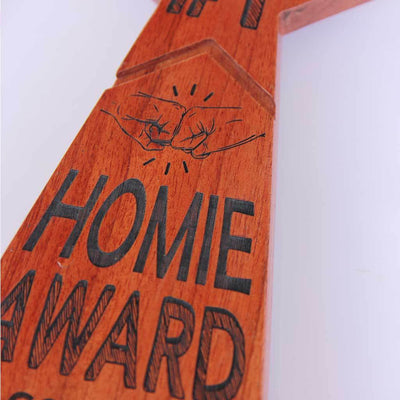 #1 Homie Trophies And Plaques. This custom trophy is one of the  best present ideas for friends. This custom trophy make unique gifts for best friend.