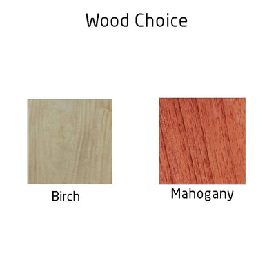 Choice Of Wood - Carved Wooden Posters by Woodgeek Store