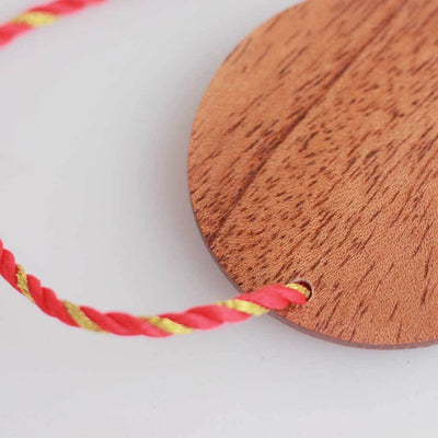 Wooden Rakhi by Woodgeek Store