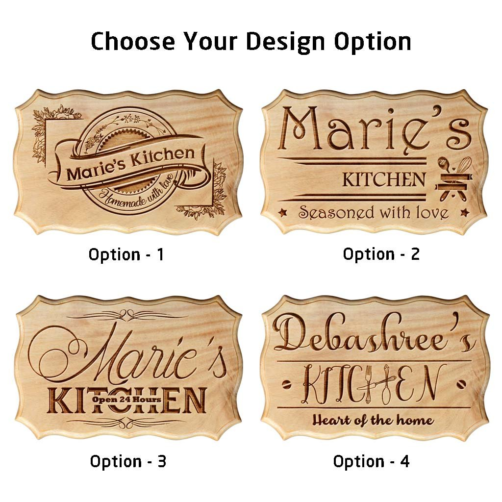personalized kitchen wood sign| custom name sign for home
