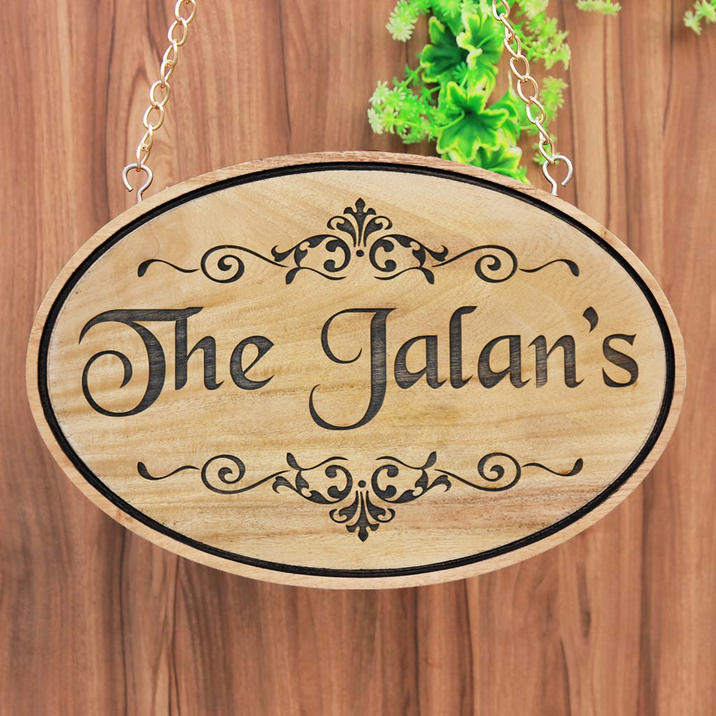 Custom Wooden Signs For Home - Hanging Signs - Personalised Signs - Custom Wood Signs - House Name Plates - Hanging House Signs - Wood Carved Signs - Wood Signs - Woodgeek Store