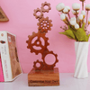 Customize Your Own Wooden Engineering Trophy. Create Your Own Custom Trophies. Make Your Own Sports Award or Fashion Award Or Engineering Award For Loved Ones.