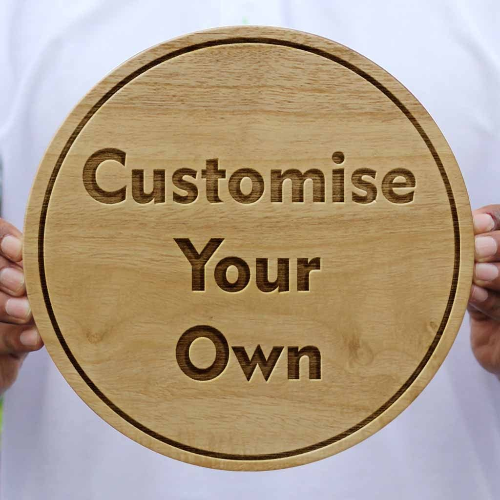 personalized carved wooden poster create your own photo on wood