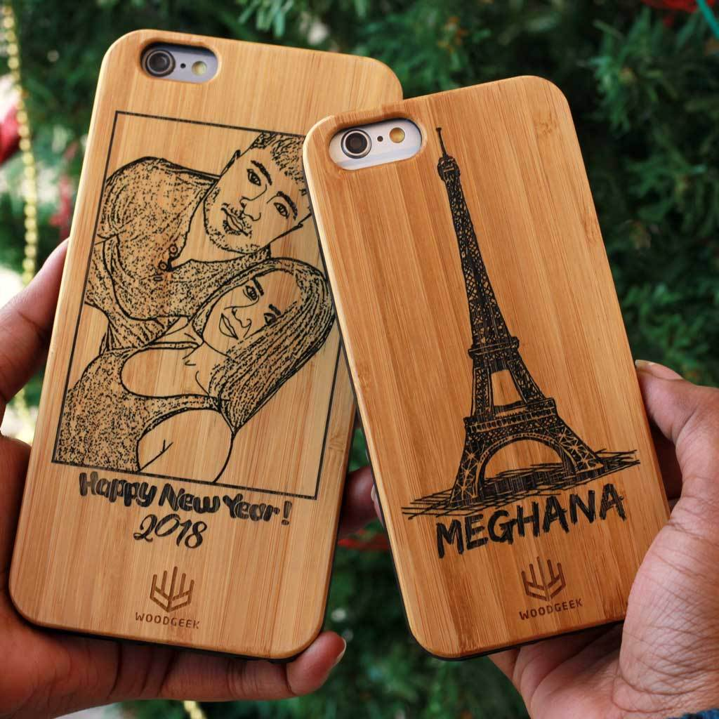 newest 6d77b 5ea74 Customized Slim Wooden Phone Case