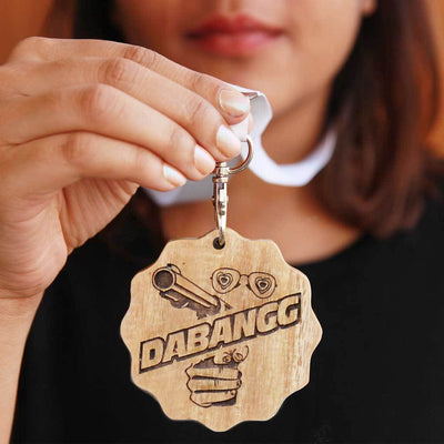 Dabang Wooden Medal - These Funny Awards Are Perfect Gifts For Friends and Loved Ones - These Custom Medals Come Engraved In Mahogany and Birch wood - Buy Medals Online From The Woodgeek Store