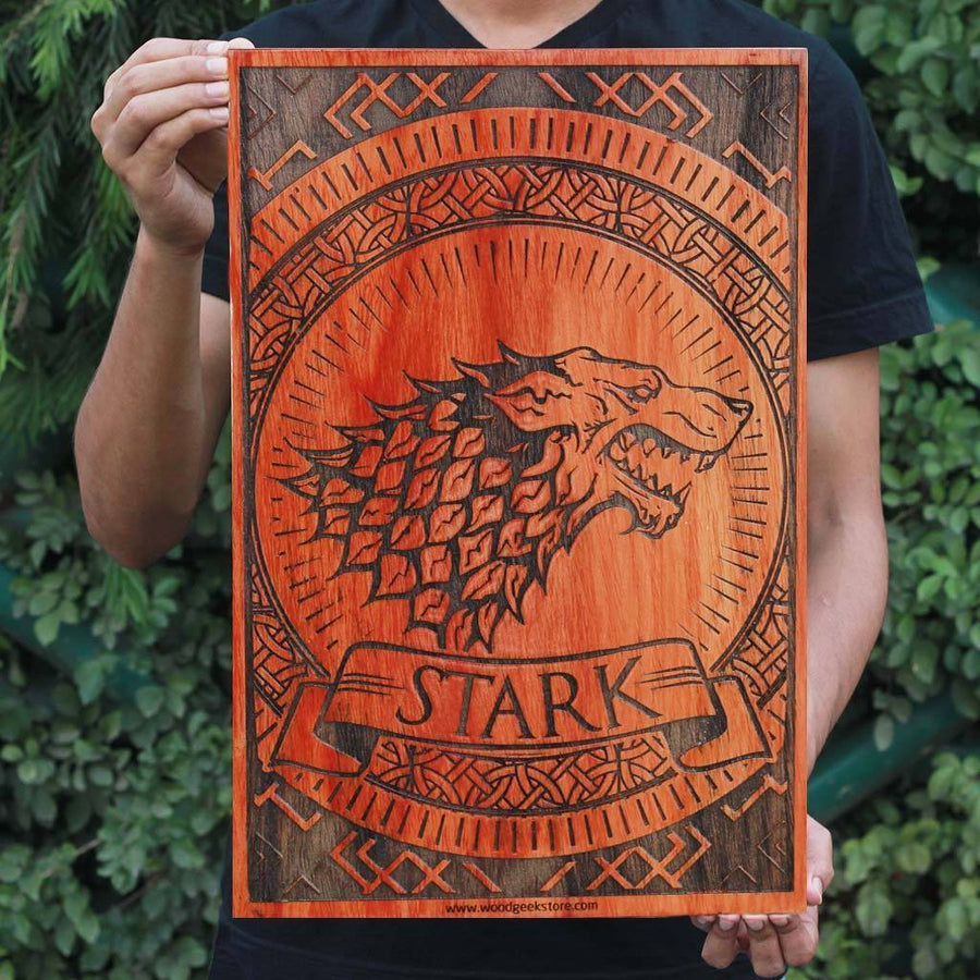 House Targaryen - Game of Thrones Houses - GOT Poster - Gifts for Game of Thrones fans - Woodgeek Store