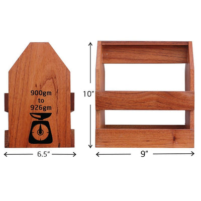 Specifications for Wooden Book Holder