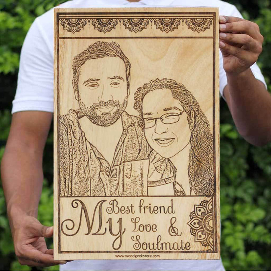 Carve Your Photo On Wood | Personalized Gifts | Photo