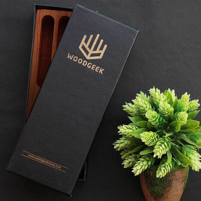 Packaging For Wooden Pen Holder - Woodgeek Store