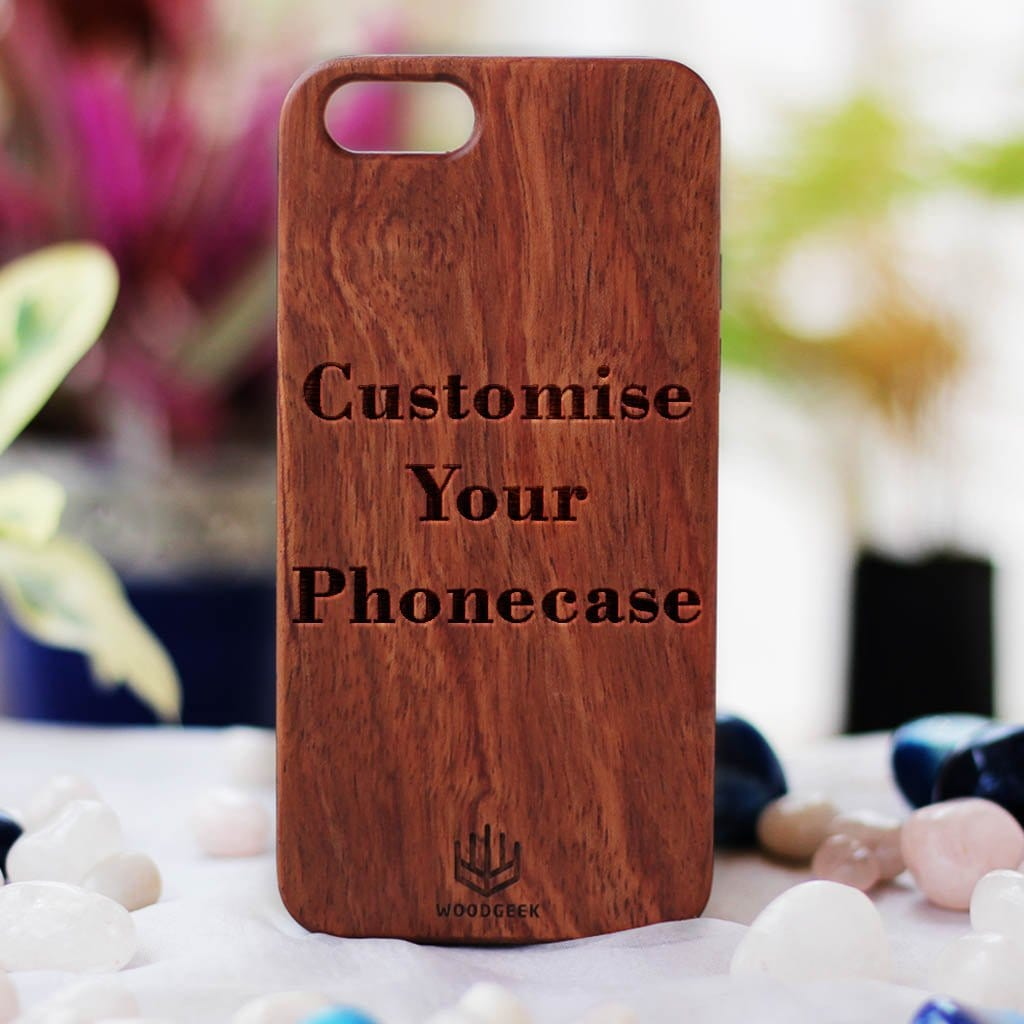 newest 9b1fc b899a Customized Slim Wooden Phone Case