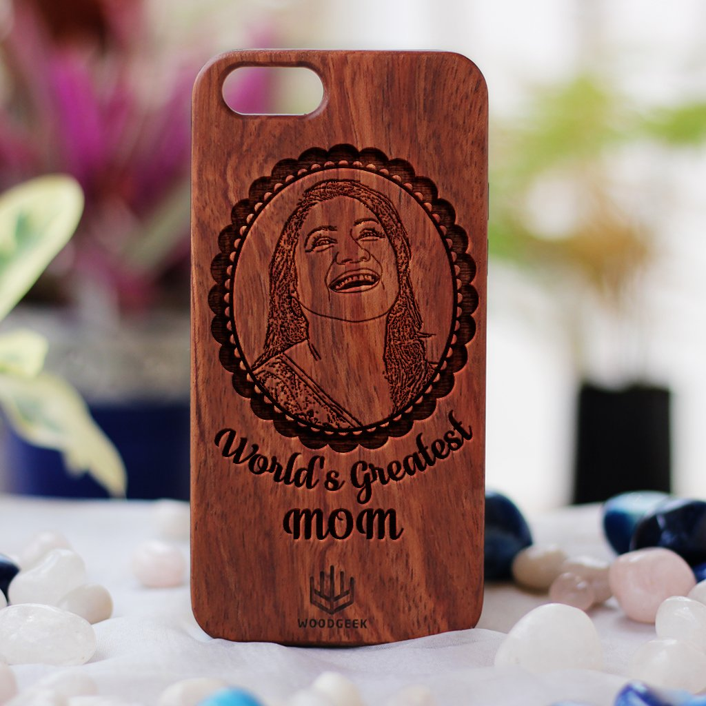 separation shoes 0ffab c25df Custom Engraved Phone Case For Your Mom