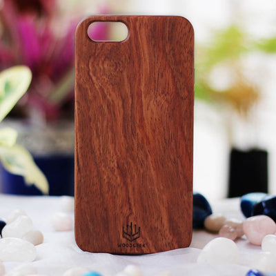 Real Wood Phone Cases - Wooden Phone Cases - Wooden Phone Covers - Rosewood Phone Case from Woodgeek Store
