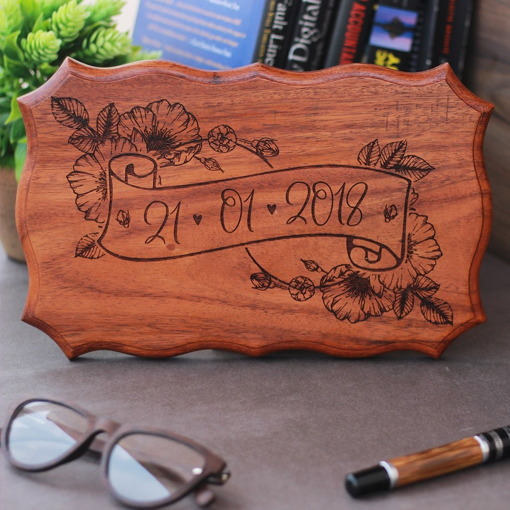 Special Date Sign - Important Date Sign - Wedding Date Wood Sign by Woodgeek Store