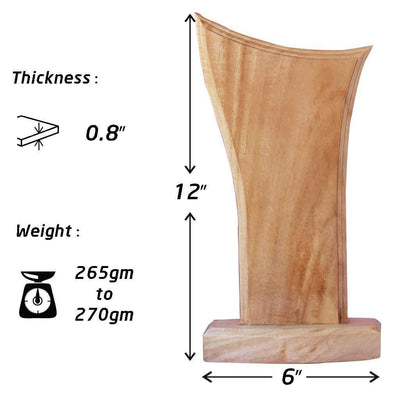 Specifications for Wooden Trophies & Awards
