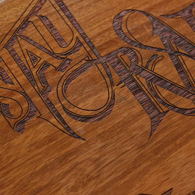 Wood Laser Engraving - Stay Rad Wood Sign | Stay Rad Wood Wall Poster | Wood Art - Woodgeek Store