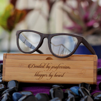 Wooden Frames - Wooden Eyeglasses - Cat eye glasses - Oval Glasses - Prescription Glasses - Fashionable Glasses - Wooden Specs - Wooden Spectacle Frames - Woodgeek Store