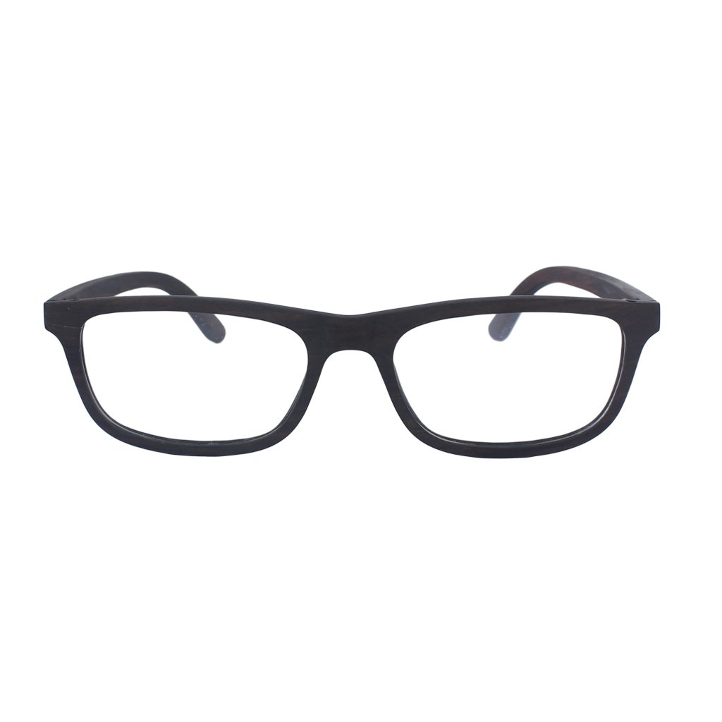 Wooden Reading Glasses - Wooden Eyewear - Rectangular Spectacle ...