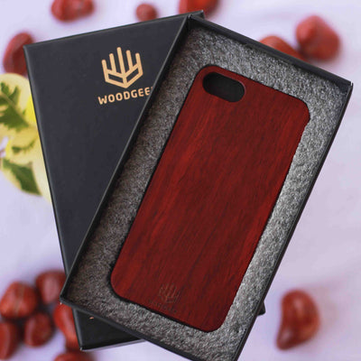 Wood Phone Case | Engraved Phone Case | Plain Wood Case | iPhone Cases | Woodgeek Store