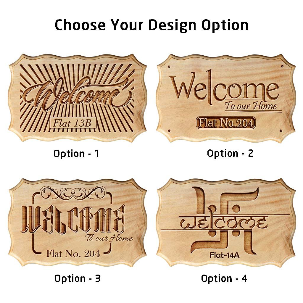 Wooden address signs for home wooden welcome signs for home personalized house name plaques
