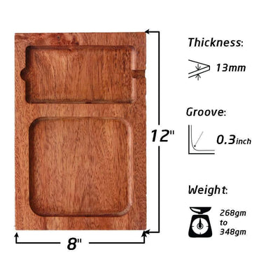 Specifications For Wood Valet Tray With Charging Station