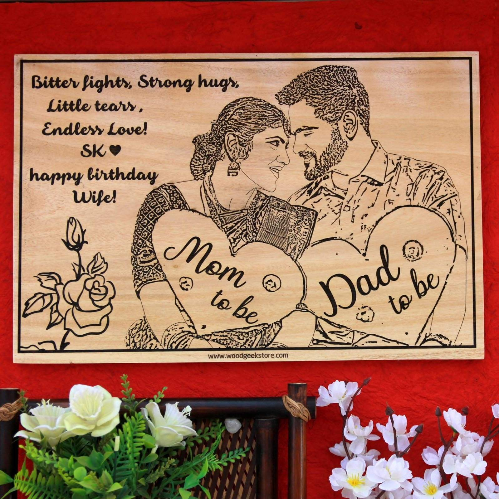 Looking for gifts for new moms and dads? This wood engraved photo is one of the best gift ideas for expecting parents. Looking for gifts for new parents or gifts for expecting parents? This photo on wood makes sentimental gifts for new parents.