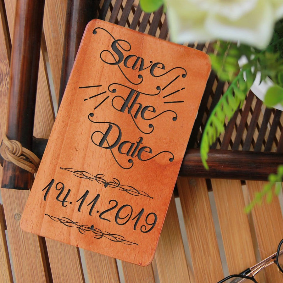 Wooden Wedding Cards and Save The Date Cards. Unique Wedding Invitations. Wedding Cards Online