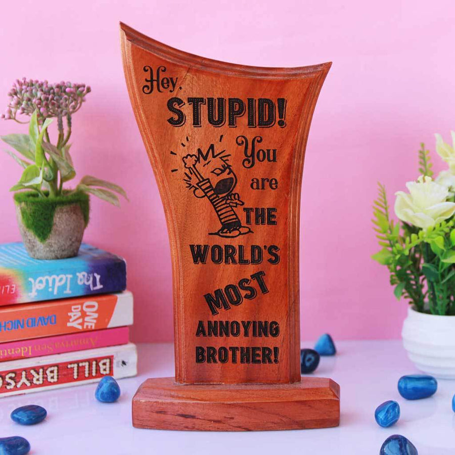 Wooden Trophies & Awards | Employee Appreciation Gifts | Funny