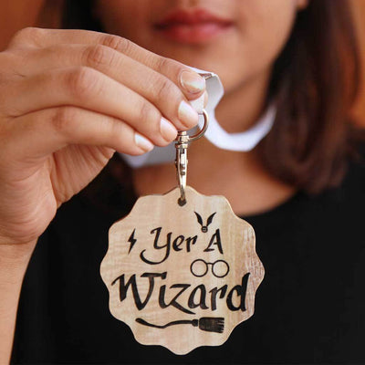 Yer A Wizard Wooden Medal - Harry Potter Medals Custom Engraved For Potterheads. The Best Personalized Harry Potter Gift. These Medal Awards Are Perfect Gifts For Harry Potter Fans.