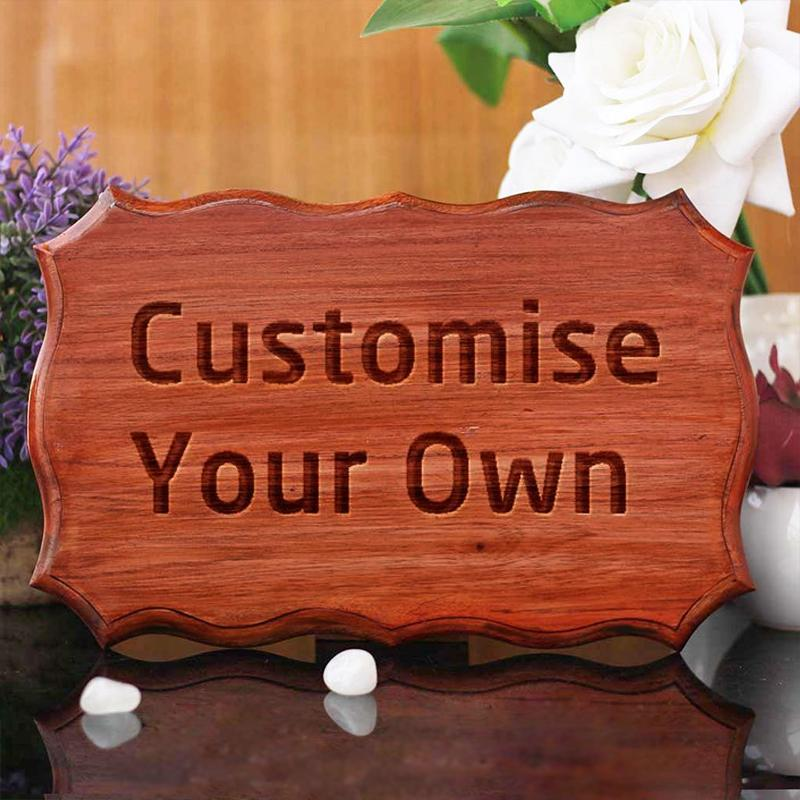 Customize Your Own Wooden Certificate