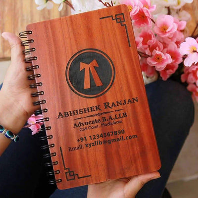 Logo Engraved Wooden Notebooks. Custom Logo Notebooks As Office Diary. These Notepads With Logo Make The Best Corporate Gifts. Looking For Gifts For Boss Or Gift Ideas For Colleagues? These Engraved Business Notebooks From The Woodgeek Store Make The Best Desk Accessories And Office Gifts.