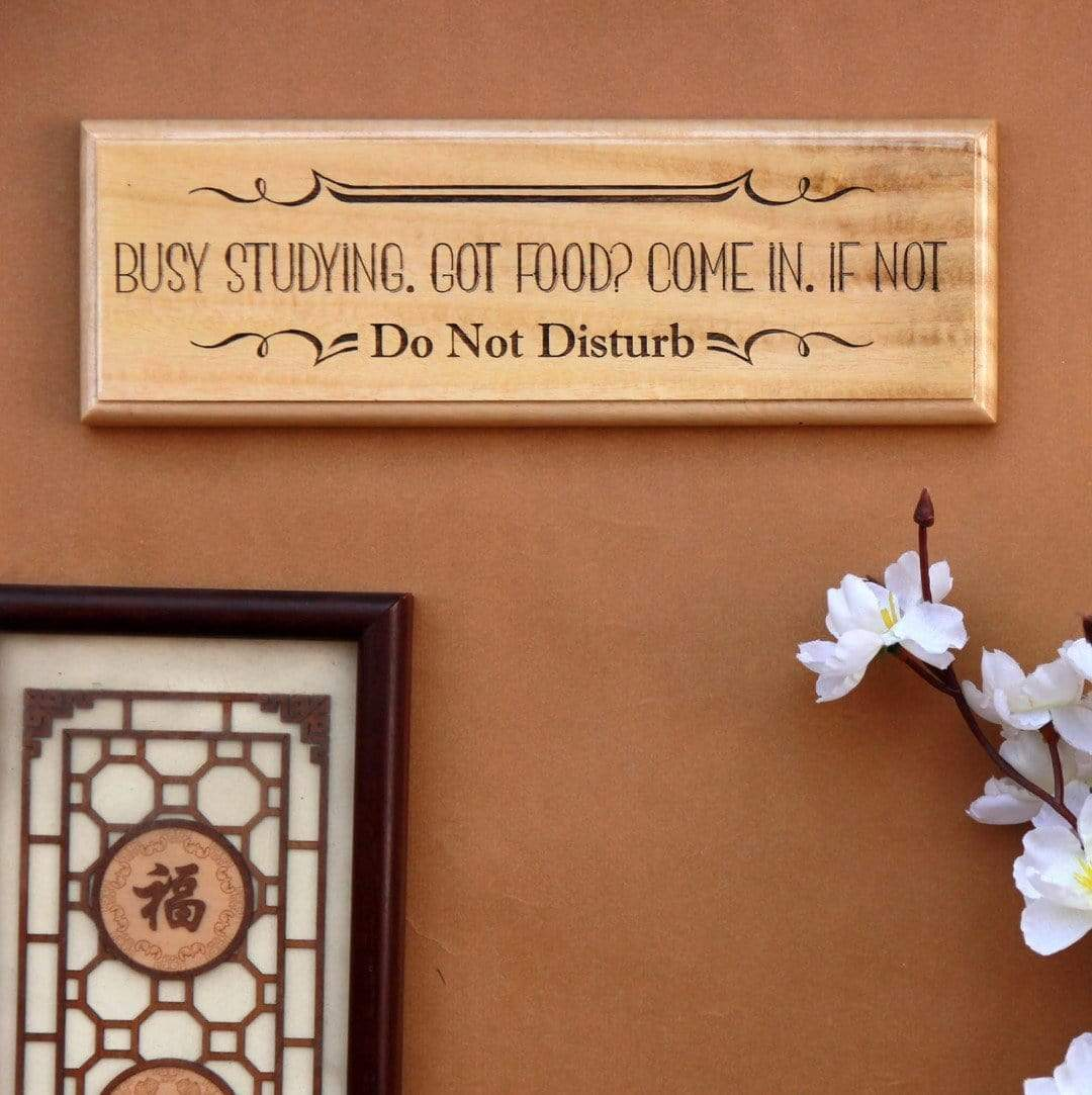 Got Food? Come In - Funny Wooden Nameplate