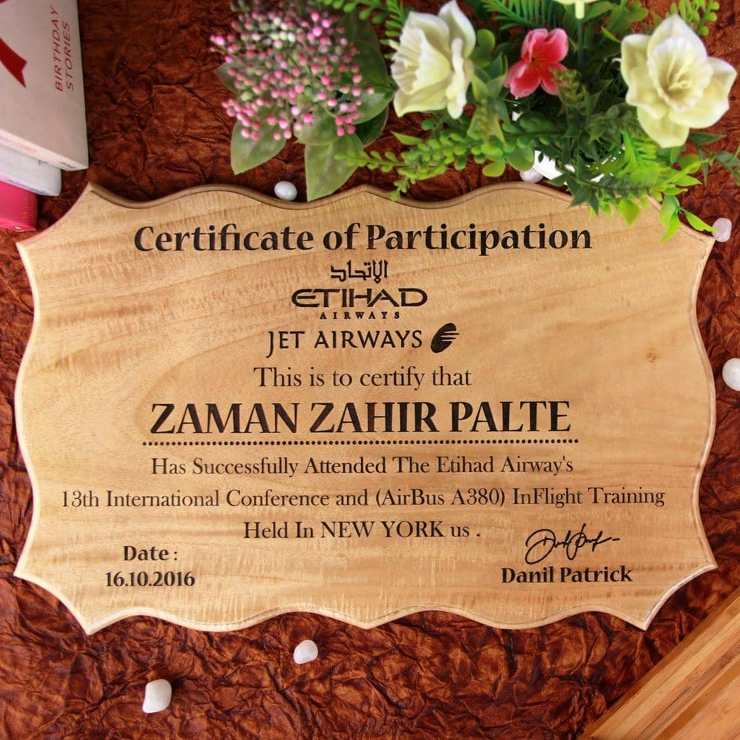Certificate of Participation- Office Gifts
