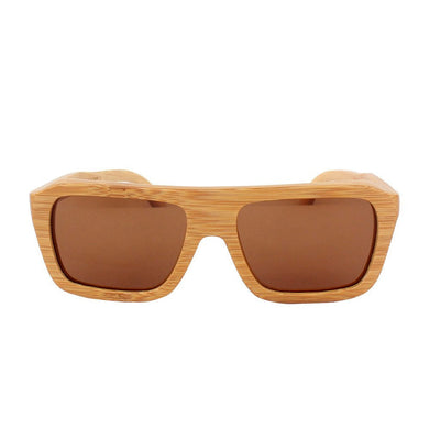 Personalized wooden sunglasses - Wood frame sunglasses - Biker Sunglasses by Woodgeek store