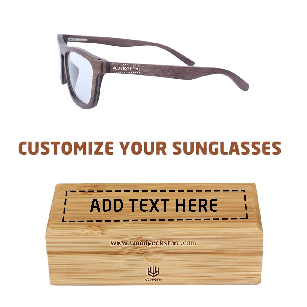 9debfc21c7 Wooden spectacles - The Entrepreneur - walnut wood rectangle ...