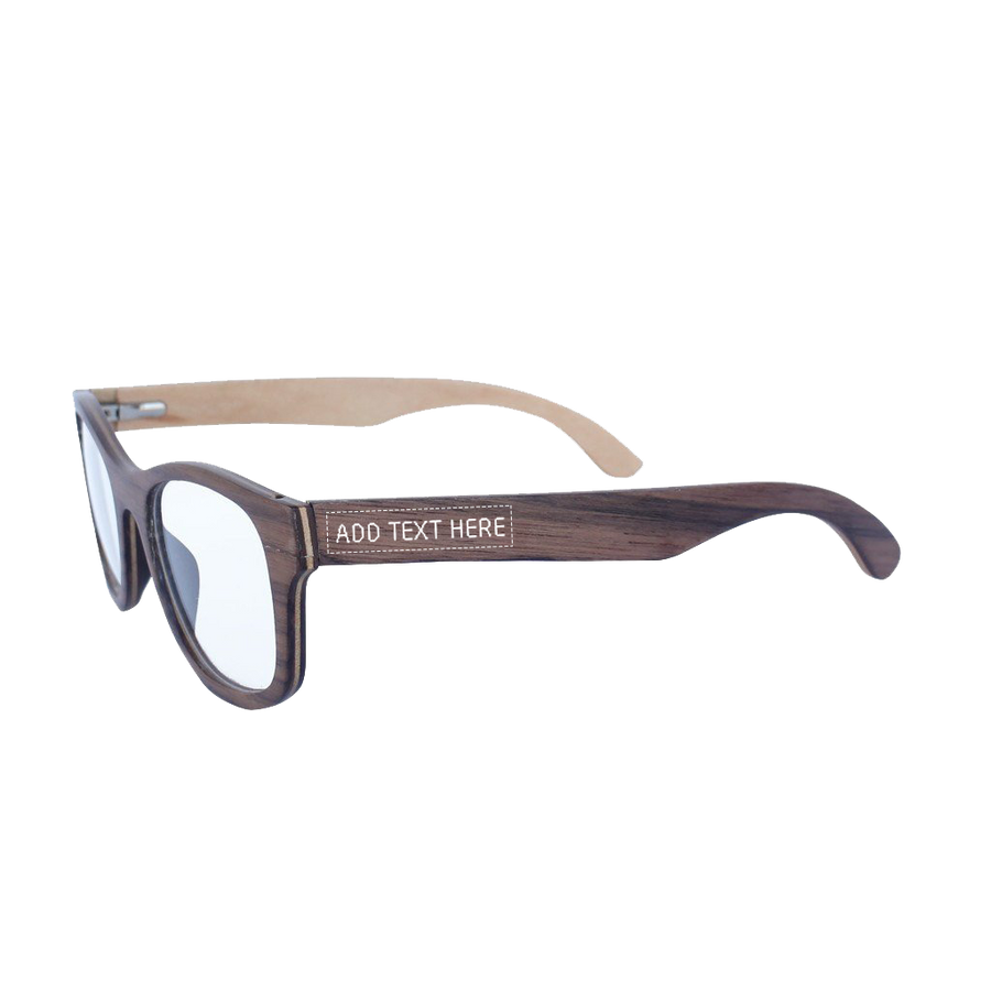 Wooden Sunglasses & Wooden Spectacles with free custom engraving ...