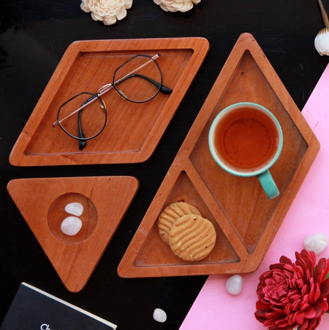 Wooden Tray for  Office