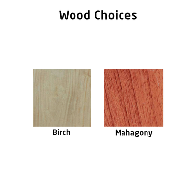 Wood Choices for wooden medal