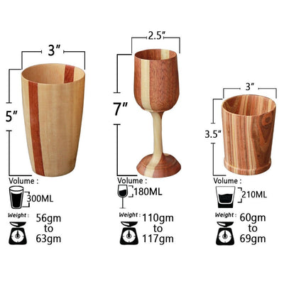 wooden glasses measurements woodgeekstore